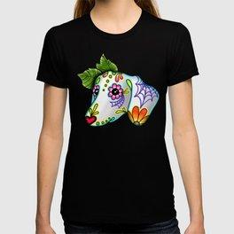Dachshund - Day of the Dead Sugar Skull Wiener Dog T-shirt