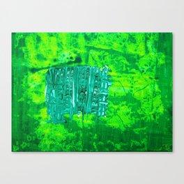 Abundance of Green Canvas Print