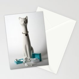 Tiffany Cat Stationery Cards