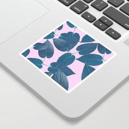 pink vegetation Sticker