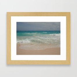 Beautiful Beach Bermuda 4 Framed Art Print