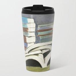Books - Pastel Illustration Travel Mug