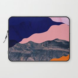 Graphic volcanic mountains Laptop Sleeve