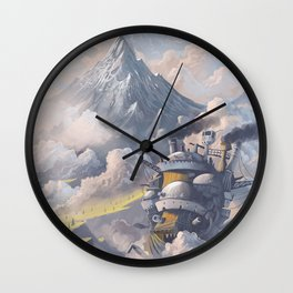 Howl's Wall Clock