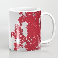 france Mugs featuring France by Flat Design