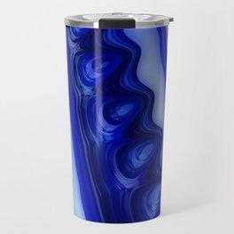 Blue Glaze Travel Mug