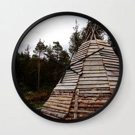 Hut Wall Clock