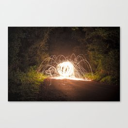 Spider Monster Canvas Print