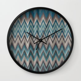 Drunk Rainbow 01 Wall Clock