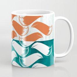 Foxhatched Coffee Mug