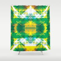manhattan Shower Curtains featuring Manhattan by Brandon Paul Martinez