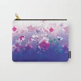 Peonies In Water Carry-All Pouch