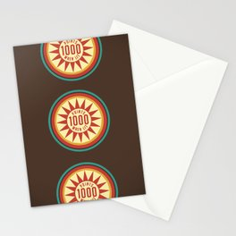 Pinball Points Stationery Cards