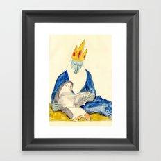 Ice King and Gunter Framed Art Print