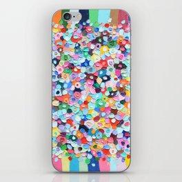 Polka Daub Explosion iPhone Skin