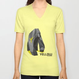 The Yellow Shirts - Silverback Gorilla Unisex V-Neck