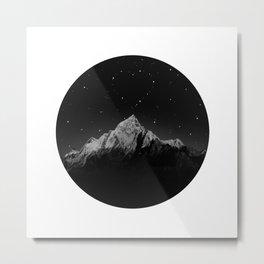 Heart constellation Metal Print