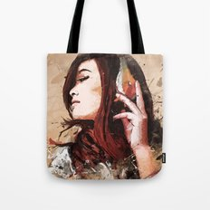Butterfly Music Tote Bag