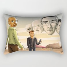 Breaking Bad: Walter's Adversaries  Rectangular Pillow