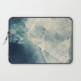 Ice Blue Surf Laptop Sleeve
