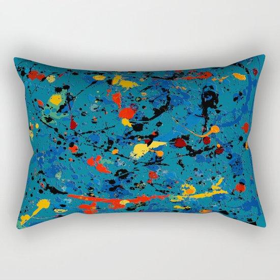 Abstract #902 Rectangular Pillow