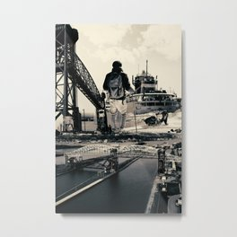 Sault Ste. Marie, Michigan Metal Print