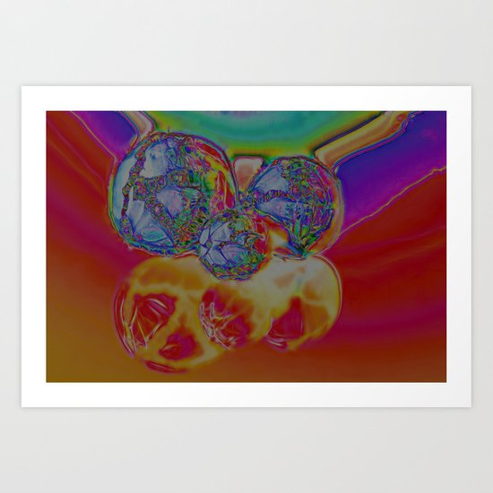 All the Colours of the Rainbow Art Print