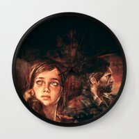 road Wall Clocks featuring The Road Less Traveled by Alice X. Zhang