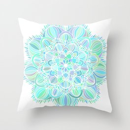Mandala 11 Throw Pillow