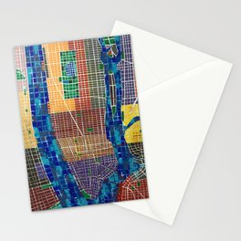 CITIES - NEW YORK V Stationery Cards