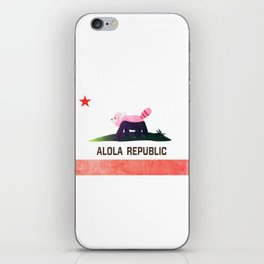 Bewear - Alola Republic iPhone Skin