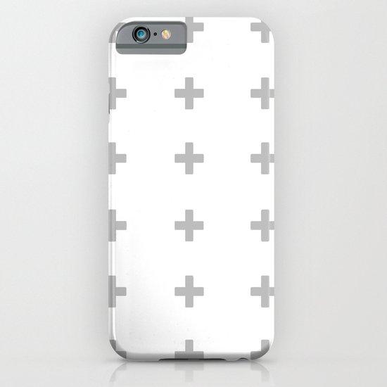 +++ (Gray) iPhone & iPod Case