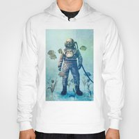 island Hoodies featuring Deep Sea Garden  by Terry Fan