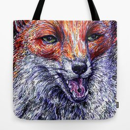 The fox and the grape Tote Bag