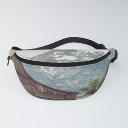 Grand Teton National Park Adventure Barn II - Landscape Photography Fanny Pack