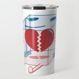 Little Box of Broken Heart Travel Mug