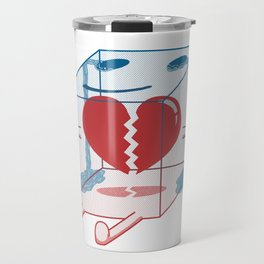 Little Box of Broken Heart Travel Mug