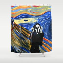 """Cult Classic #3 """"Scream"""" Shower Curtain"""