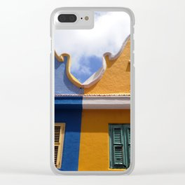 Netherland style house Clear iPhone Case