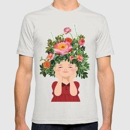 Spring Flower Girl T-shirt