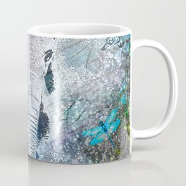 ELEPHANT IN THE STARRY LAKE Coffee Mug