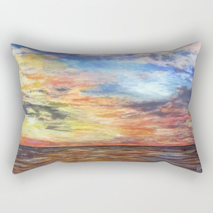 Sunset for Georgia Rectangular Pillow