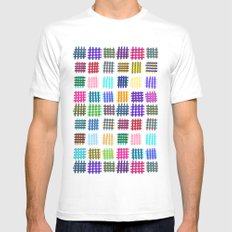 Marker Hash Mens Fitted Tee White MEDIUM