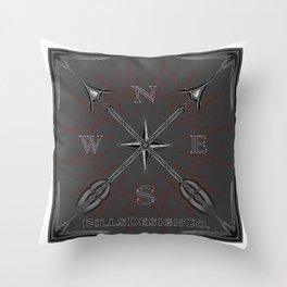 Bills Design Co. Throw Pillow