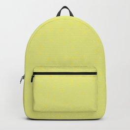 Yellow Shambolic Bubbles Backpack