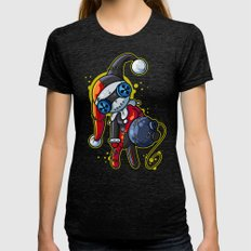 Harley Doll Womens Fitted Tee Tri-Black SMALL