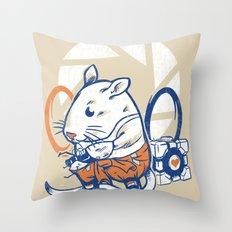 Rat Subject Throw Pillow