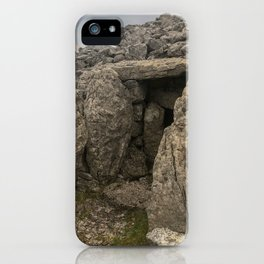 Neolithic era megalithic cemetery in County Sligo, Ireland called the Carrowkeel tombs iPhone Case
