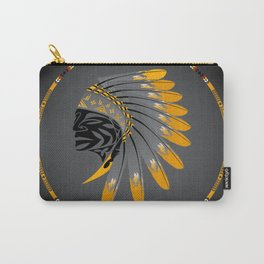 Honor and Strength Yellow Carry-All Pouch