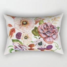 Fall Poppy Bouquet Rectangular Pillow